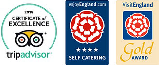 Certificate of excellence award for Upton Grange Dorset - Tripadvisor