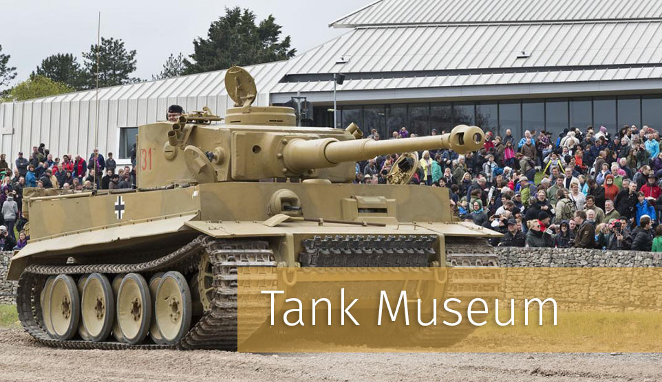 Things to do in Dorset - Tank Museum