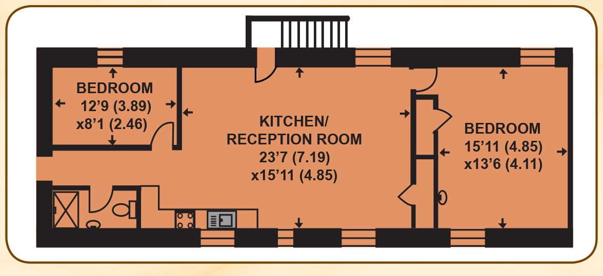 Owl's Roost Floor Plan
